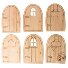 Cheap doors cottage, Buy Quality door to door express directly from China decorative steel entry doors Suppliers:  10pcs/Lot DIY 2016 Laser Cutting Wooden Love House Shape Cards Crafts Blank Plaque Decoupage Home Handmade Cr