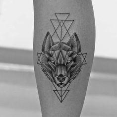 Tattoo Wolf - 60 inspirierende Ideen für Männer und Frauen