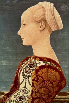 Antonio del Pollaiuolo. Portrait of a Young Woman Portraits of  Women in Italian Renaissance Painting #TuscanyAgriturismoGiratola