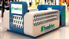 Kiosk Design, Booth Design, Mobile Shop Design, Mobile Kiosk, Cell Phone Store, Mobile Phone Shops, Decoration, Shopping, Pos