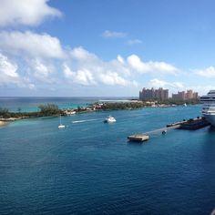 Heading to Nassau, Bahamas on Carnival Pride Cruise ship. Getting closer to Atlantis.. :-)