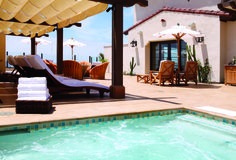 With breathtaking views and upgraded amenities, guests will be whisked away to their lavishly-appointed California oceanfront vacation rental just steps from our relaxing spa pool.