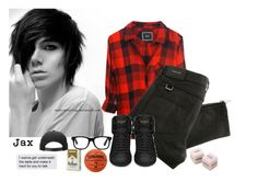 """""""Come on baby let me see, what you're hidin' underneath"""" by anxns-roleplay-dxrty ❤ liked on Polyvore featuring Rails, Belstaff, Yves Saint Laurent, Spalding, mens, men, men's wear, mens wear, male and mens clothing"""