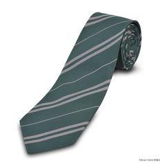 Authentic Slytherin™ Tie | Accessories | Warner Bros Studio Tour London