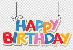 Birthday cake , Hanging Colorful Happy Birthday , Happy