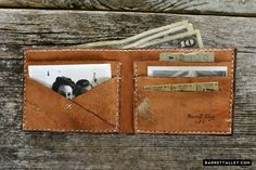 Beautiful. I love it #LeatherWork #Wallet