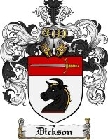 Dickson Coat of Arms / Dickson Family Crest