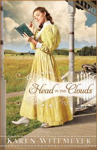 Head in the Clouds by Karen Witemeyer   A Governess comes to live on a sheep ranch to care for a mute girl.
