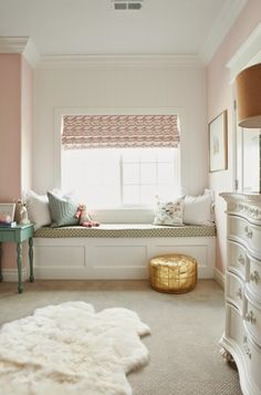 Pink and Gold Nursery Reveal - House of Jade Interiors Blog