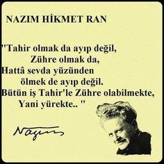 Nazım Hikmet'in Resimli Sözleri – BilgiSozler.com