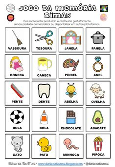 Teaching English Grammar, Teaching Math, Games For Kids, Activities For Kids, Portuguese Language, Fairy Tales For Kids, Educational Games, Home Schooling, Speech Therapy