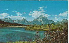 Teton National Park Snake River, Mount Moron