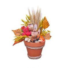 Szárazvirág asztaldísz Planter Pots