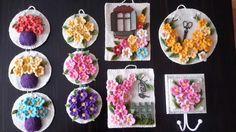 Keçe çiçekler-Sümbül Eldek