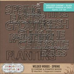 Welded Words: Spring