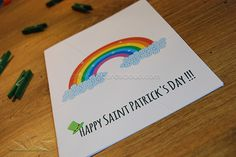 Print at home Sweet Card from www.greetingcardscloud.com :)  www.facebook.com/greetingcards.cloud  Like & share :) #rainbow #cute #funny #sweet #believetherainbow