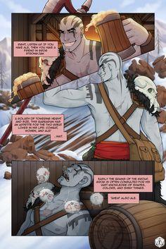 Grog Strongjaw comic page by ProxyComics on DeviantArt