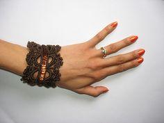 Ravelry: virkkaaja's Bracelet Ravelry, Bracelets, Bracelet, Arm Bracelets, Bangle, Bangles, Anklets