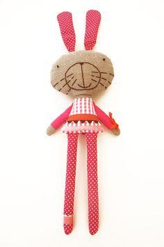 Julia the softie rabbit