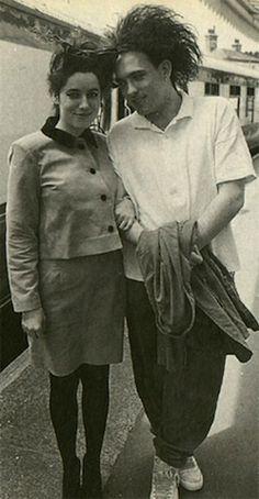 Pictures of Robert Smith Looking Happy