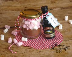DIY cadeau: Warme choco met Baileys (Perfect Housewife - to be)
