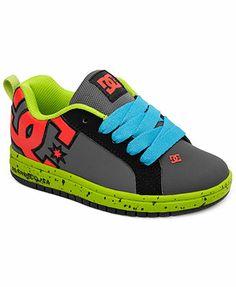 DC Shoes Kids Shoes, Boys or Little Boys Court Graffik SE Sneakers