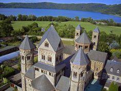 Iglesia abacial de Maria Laach (Abtei Maria Laach) ~ Arquitectura asombrosa