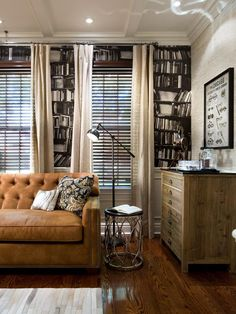 Candice Olson Living Rooms Pictures Built In Cabinets For Room 145 Best Designs Images Decorating I Love The Book Case Wallpaper Blue Home Offices