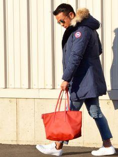 KAZUMAさんのダウンジャケット/コート「CANADA GOOSE <15秋冬>【CANADA GOOSE】JASPER」を使ったコーディネート