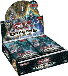 Amazon.com: YuGiOh - Dragons of Legend Booster Pack: Toys & Games