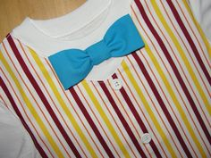 Bert Bow Tie Tuxedo Vest T Shirt Outfit Disney by HomeArtsBoerne