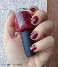 katie sunrise me and my nails: [Lacke in Farbe ...und bunt!) O.P.I - I´m Suzi & I´m a Chocoholic