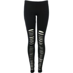 Missguided: leggings, leggings, leggins, black, cut ❤ liked on Polyvore featuring pants, leggings, bottoms, jeans, black trousers, black leggings and black pants