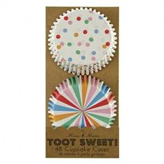 From 2.99:Toot Sweet Multi Coloured Cases Birthday Party