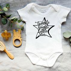 Baby onesies - Twinkle Twinkle Little Star bodysuit- Baby shower gift How To Express Feelings, Feelings And Emotions, Twinkle Twinkle Little Star, Life Photo, Unique Baby, S Star, Baby Bodysuit, Baby Shower Gifts, Onesies