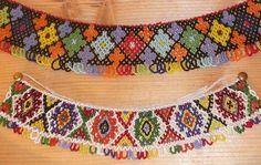 Beaded Necklaces From The Kryvorivnya Village (Carpathian Mountains, Western Ukraine) by MariyaZ, via Flickr