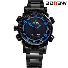 31.58$  Watch now - https://alitems.com/g/1e8d114494b01f4c715516525dc3e8/?i=5&ulp=https%3A%2F%2Fwww.aliexpress.com%2Fitem%2FWEIDE-3ATM-Waterproof-Military-Watches-Men-Quartz-Digital-Dual-Movement-Date-Alarm-LED-Backlight-Function-Full%2F32595629452.html - WEIDE 3ATM Waterproof Military Watches Men Quartz Digital Dual Movement Date Alarm LED Backlight Function Full Steel Sport Watch 31.58$