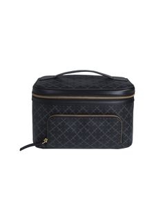 The perfect travel companion, By Malene Birger's cosmetics case features handy compartments and a front zipped pocket for travel essentials. Printed with By Malene Birger's Arabian Flower motif and finished with a carry handle, this spacious vanity kit stores all your beauty essentials
