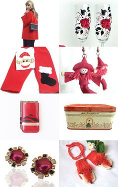 Gifts of Red by midnightcoiler on Etsy--Pinned with TreasuryPin.com