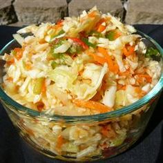 Spicy Southwestern Slaw | Try this Mexican-style coleslaw as a side-dish with burritos and enchiladas.