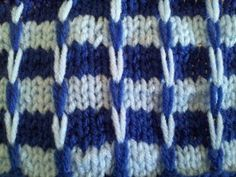 Ridge Check Stitch follow this free pattern at http://www.learnhowtoknitascarf.com/ridge-check-scarf/