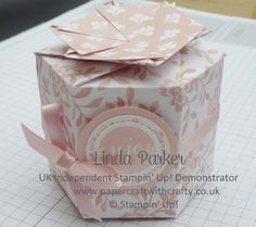 Hexagonal Treat Box by Linda Parker