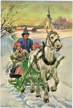 JUL KORT / JENNY NYSTRÖM (366892886) ᐈ Köp på Tradera Illustrator, Christmas Cards, Book, Painting, Art, Christmas E Cards, Art Background, Painting Art, Kunst