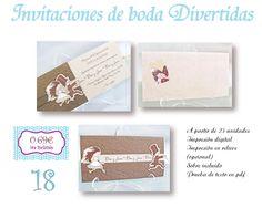 invitaciones de boda Valladolid de Infocopy Olmedo