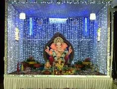 ganpati decoration ideas dream home pooja room pinterest