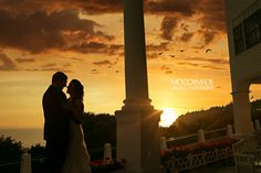 A sunset wedding at Grand Hotel on Mackinac Island in Northern Michigan, image by McCoyMade 2014.  #GrandHotelMackinacIsland #MackinacIslandWedding #NorthernMichiganWedding #McCoyMadePhotography