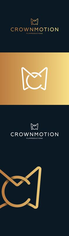 CrownMotion Logo White by Richard de Ruijter