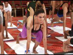 CHECKOUT Rakhi Sawant's International Yoga Day 2015 celebration.  See the full video at : https://youtu.be/1Clw1V54KSI #rakhisawant
