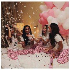 Bachelorette party 21st Birthday, Birthday Goals, Birthday Photos, Bffs, Bestfriends, Slumber Parties, Sleepover, Lingerie Party, Squad Goals