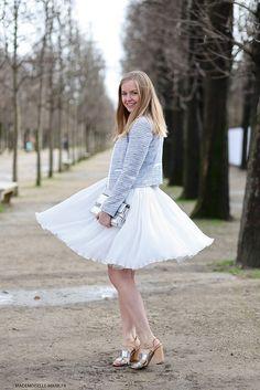 feminine style | #fashion #streetstyle | http://lkl.st/1zYjzd6 | See more on https://www.lookli.st #Looklist